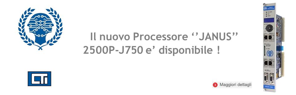 PROCESSORE ''JANUS'' 2500P-J750